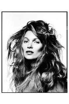 Kate Moss by David Bailey circa 2013