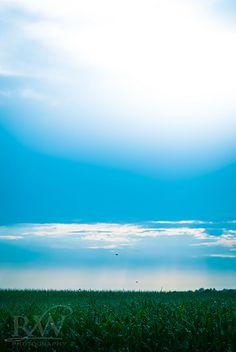 blue skies, blue skies, blue skies