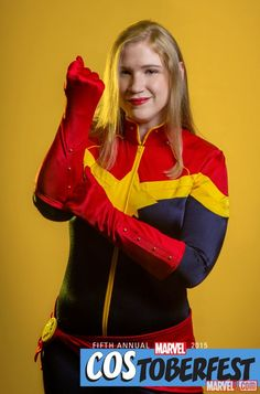 Costoberfest 2015: BareFoot Sewing as Captain Marvel