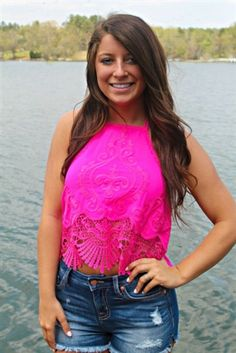 Nobody Love Top - Hot Pink $42.99 #SouthernFriedChics