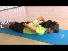 Супер упражнения для укрепления мышц спины - YouTube