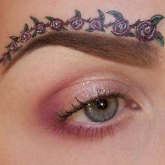 @sandra holmbom created this beautiful, romantic floral design using #Sugarpill eyeshadows. Impressive work, @sandra holmbom! #eotd - @Sugarpill Cosmetics- #webstagram