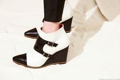 #double monk strap wedge