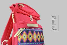 Backpack Pilsok 9 Printed Edition Peace / Backpack For by Pilsok