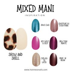 Nail Color Combos, Color Combinations, Nail Colors, Gorgeous Nails, Pretty Nails, Street Game, Dry Nail Polish, Manicure Tips, Color Street Nails