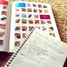 A Budget Friendly Meal Plan - thanks to @Cooking Light Real Family Food Cookbook!