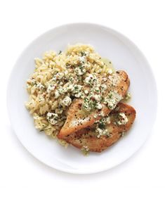Chicken With Goat Cheese Vinaigrette Recipe