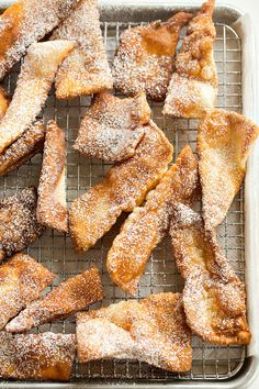Grandma's Fried Dough Pastries | Brown Eyed Baker