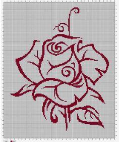 En Güzel Kanaviçe Çiçekli Şablonlar (2) - GELİN İŞLERİ Cross Stitch Pattern Maker, Cross Stitch Borders, Cross Stitch Alphabet, Modern Cross Stitch Patterns, Cross Stitch Flowers, Counted Cross Stitch Patterns, Cross Stitch Charts, Cross Stitch Designs, Cross Stitching