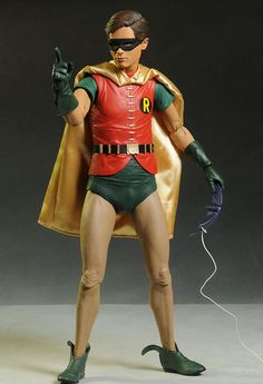 1966 Batman show Robin 1/4 scale action figure by NECA