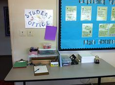 Student Station...Must have this next year!