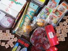 Get creative for your pen pals!  miki's scrapbook: 25 things you can send to your pen-pals