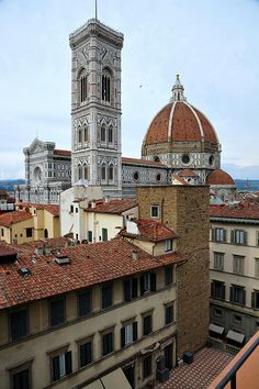 Firenze, Italy.   Florence...The entire city is like a museum beginning with Michelangelo.➰