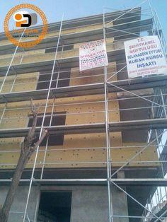 Isı Yalıtım Mantolama | İhtişam Yapı Dekorasyon Ladder, Staircases, Stairway, Staircase Runner