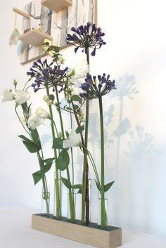 Flowers&Wood * deep blue * Misterwood