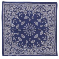 royal new paisley bandana.