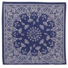 royal new paisley bandana.