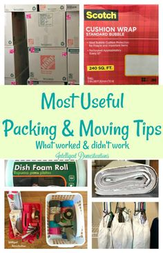 Most Useful Packing and Moving Tips. What worked and what didn't for us. Moving tips. Packing to move tips. How to pack your house for moving. These are my most useful packing and moving tips! Some things worked and others not so much! Deep Cleaning Tips, House Cleaning Tips, Spring Cleaning, Cleaning Hacks, Cleaning Schedules, Moving House Tips, Moving Day, Moving Tips, Moving Hacks