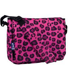 Pink Leopard Kickstart Messenger Bag - 41214