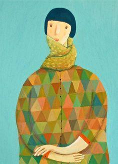 illustratedladies:    Jenny.M.