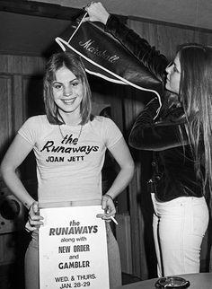 A super young Joan Jett