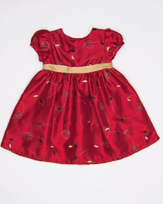 24 Months Girls Dress by GEORGE - $10.99| www.KidzOutfitters.com #kidsfashion #girlsdress #christmasoutfits