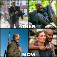 "Gabriel's transformation. The Walking Dead S07 E10 ""New Best Friends"". Season 7 Episode 10."