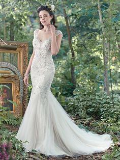 Maggie Sottero Wedding Dress Romyn 6MW271 front