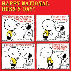Happy National Boss's Day!