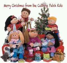 Merry Christmas from the Cabbage Patch Kids!