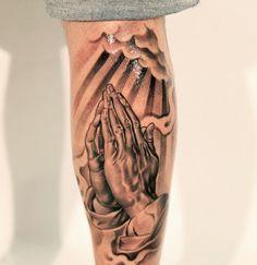 50 Wonderful Praying Hands Tattoo Ideas for Guys