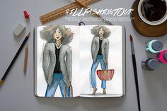 Illustrated Fashion Tour