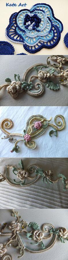 Irish lace, model, plan. | Entries in category IRISH lace | īru raksts | post