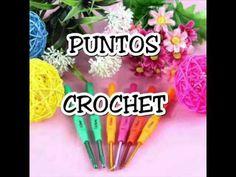 Puntos de Crochet Variaciones del Medio Punto - YouTube