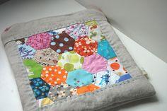 Hexagon Bag by Tiny House, via Flickr