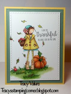 Tiny Townie Fay Loves Fall, Stamping Bella