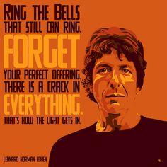 Leonard Norman Cohen 3 by benjancewicz, via Flickr