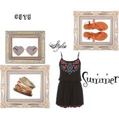 Cute, Stylin, Summer by tgray2020 on Polyvore featuring maurices, Jigsaw, Wallis and Wildfox