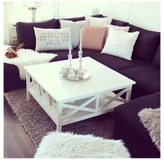 Love this look for the lounge room
