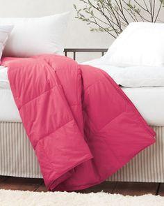 Garnet Hill Essential Down or Core-Loft® Comforters