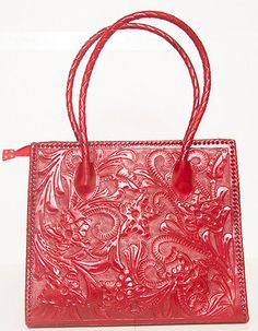 Red Handmade Leather Purse by ChamanShop on Etsy d7bd044f5288c