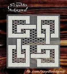 Фотография Filet Crochet Charts, Crochet Cross, Crochet Diagram, Crochet Art, Crochet Round, Tapestry Crochet, Thread Crochet, Crochet Stitches, Crochet Square Patterns