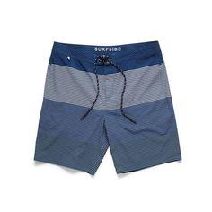 Product Description:Multi Stripe Lined Boardshort Product Details:  Color:Navy Mesh Liner Drawstring Waist Allover Stripe Two Side Pockets for Hands Ve...