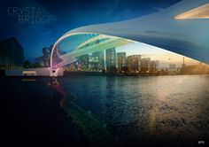 From the spartan to the over-the-top futuristic, designers have been busy coming up with wacky designs for a new bridge, which will span the Thames.