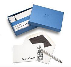 Smythson Fashion Capital Correspondence Cards