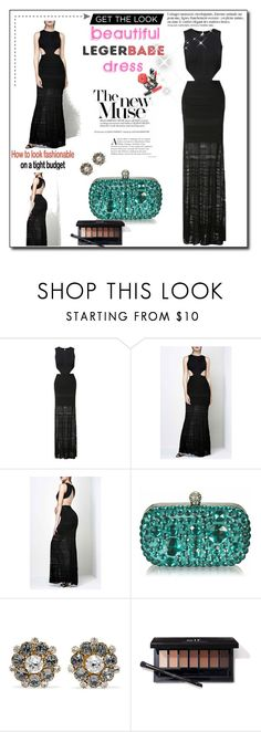 """""""Long party dresses for women-Legerbabe Alondra Pointelle Bandage Gown"""" by legerbabedress ❤ liked on Polyvore featuring Dolce&Gabbana, Anja and Chanel"""