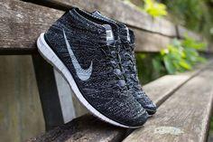 Nike – Free Flyknit Chukka (black/ grey/ white)