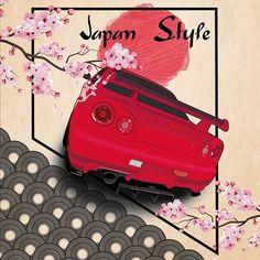Nissan Skyline GTR Illustration.  @jp.performance     #nissangtrlovers #nissanjapan #jpperformance #jp #boost #bigboostarmy #bigboytoy #bigcarlovers #dailydrivenexotics  #bigboostburger #fernostcarre #1000hp #nissangtr #r34 #rb26 #turbo #becauseracecar Skyline Gtr, Nissan Skyline, Car Drawings, Illustration, Army, Japan, Instagram, Pictures, Drawings Of Cars