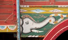 Truck decoration detail | Meanest Indian, Flickr