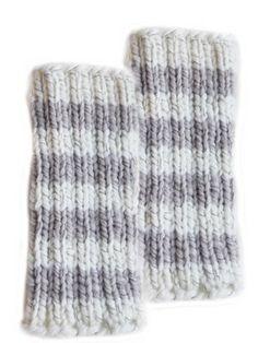 Neulotut säärystimet Novita Heijastus Leg Warmers, Tricot, Socks, Tights